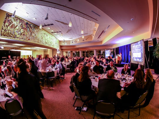 A well attended 61st Howell Chamber Annual Dinner and