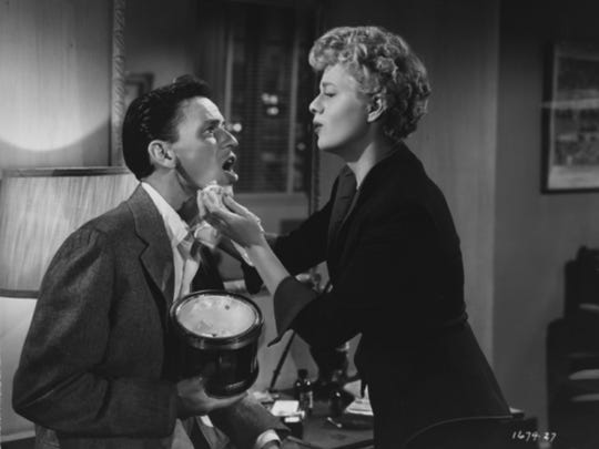 "Frank Sinatra and Shelley Winters star in ""Meet Danny Wilson,"" Sinatra's last film before his comeback."
