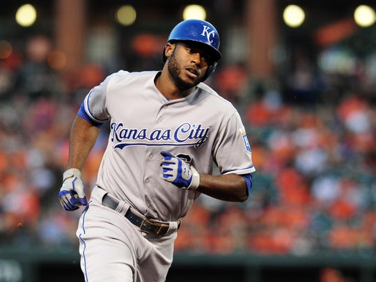 Kansas City Royals outfielder Lorenzo Cain played at Madison County High and Tallahassee Community College.