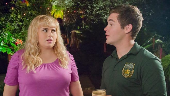 "Rebel Wilson and Adam Devine star in ""Pitch Perfect 2."""