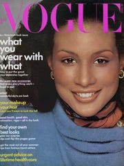 Beverly Johnson graced the cover of Vogue in 1974.