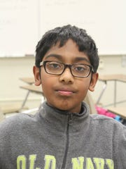 Ananth Shyamal took fourth place in a statewide MathCounts