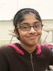 Divya Shyamal qualified competed in a statewide MathCounts