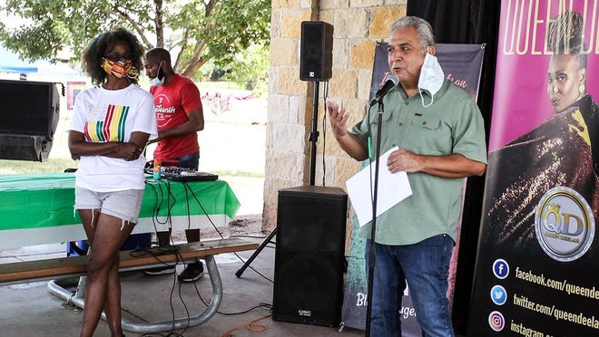 """During the city's first Juneteenth celebration on June 20, Mayor Victor Gonzales issued a proclamation declaring June 19 """"Celebrate Juneteenth Day"""" in Pflugerville. On Tuesday, the City Council officially voted to adopt Juneteenth as a city holiday."""