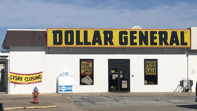 The East Jackson Street Dollar General is expected to shut down in the near future. The store is located in part of the former JCPenny property.