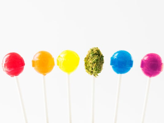 marijuana laced candy