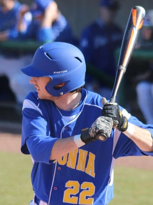 Madonna University outfielder Michael Tibbits is playing this summer for the Statesville (N.C.) Owls in the Southern Collegiate Baseball League.