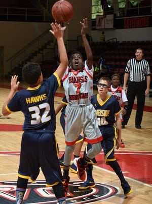 Clarksville-Montgomery County will welcome nearly 3,000 guests next week for three divisions of the Amateur Athletic Union's Boy's 10-and-Under National Basketball Championships.