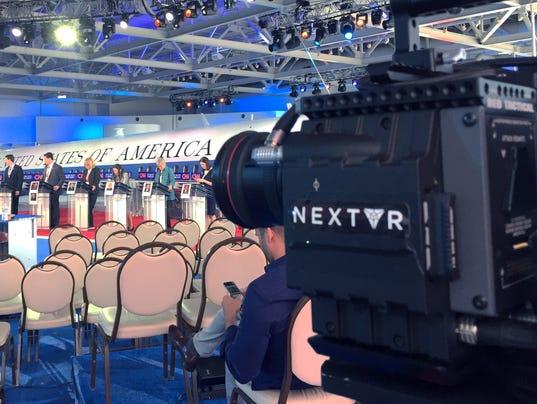 NextVR streaming CNN debate