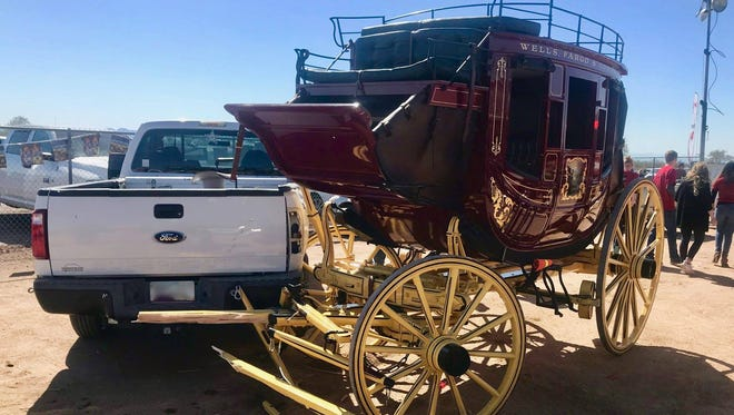 The chairman for Lost Dutchman Days Rodeo was injured in a crash involving a vehicle and a horse-drawn stagecoach on Feb. 24, 2018.