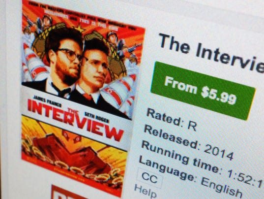 AP SONY HACK-THE INTERVIEW A ENT FILE USA CA