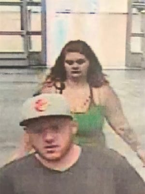 Maryland State Police are looking for these people they believe has stole several items from the Parsonsburg area, including a Teenage Mutant Ninja Turtles backpack.
