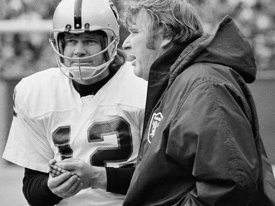 Those were the days: The late Oakland Raiders quarterback