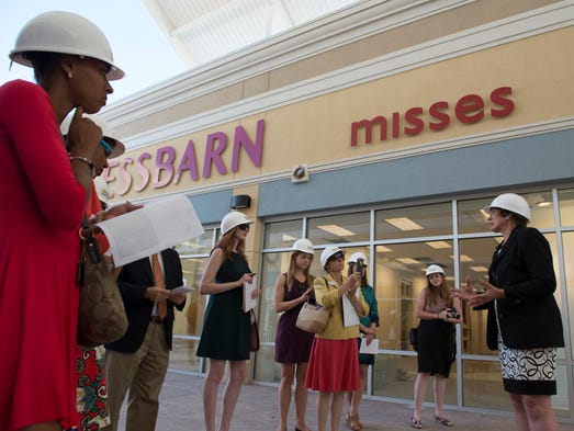 The Outlet Shoppes of the Bluegrass, located off Interstate 64 and KY in Shelby County opened to the public July