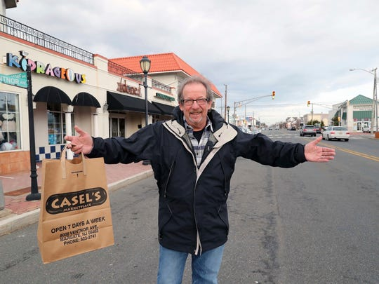 Margate Business Association President Ed Berger poses for a photo as he welcomes visitors back to Margate.
