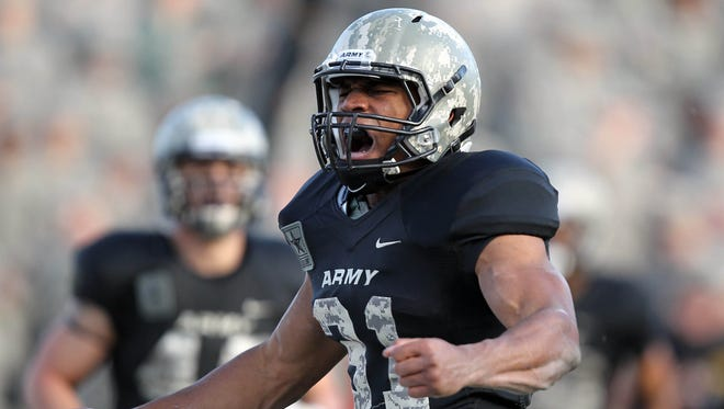 Army running back Terry Baggett could be in for a big year if the Black Knights' offensive line comes together.