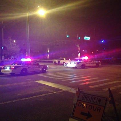 Police still on scene after shooting near Club Underground