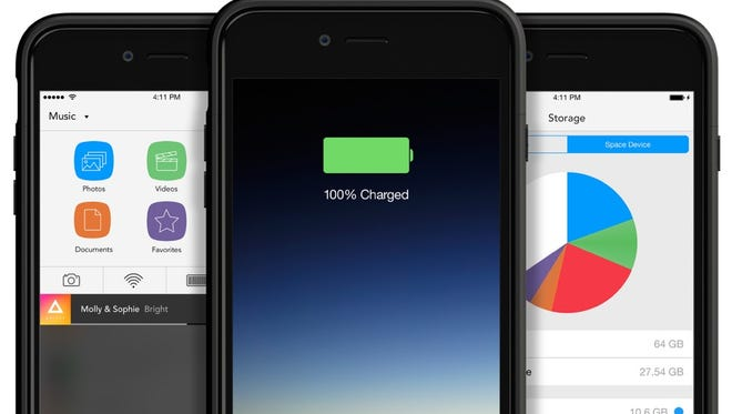 Mophie's latest round of Space cases for the iPhone and Galaxy.