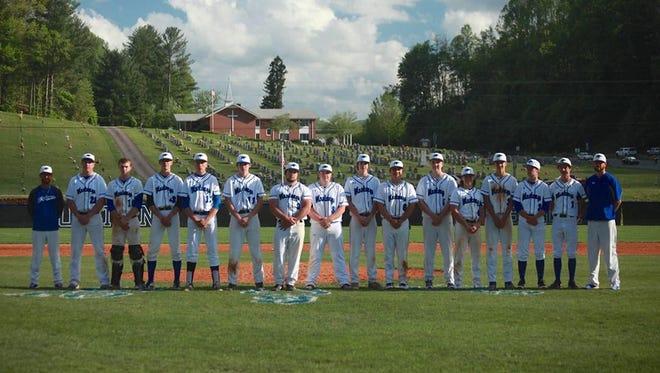 The Smoky Mountain baseball team.