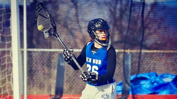 Mackenzie Porter starred for six years at Hen Hud, gaining all-American honors her junior and senior year.