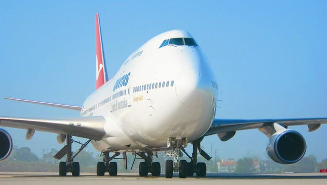 Qantas' Boeing 747 jets fly some of the longest flights to depart the United States.
