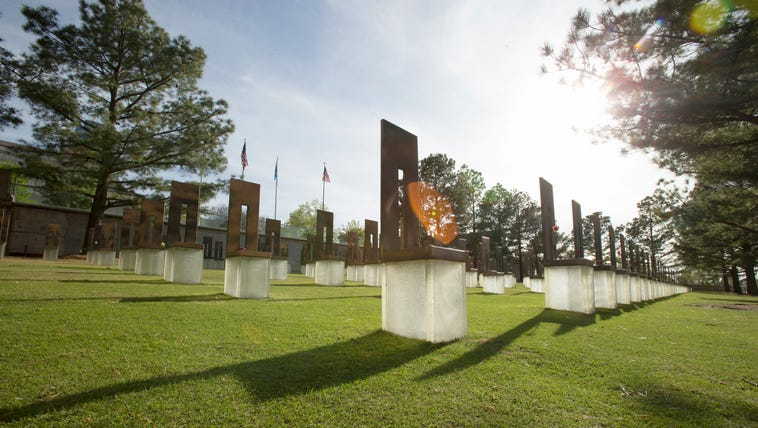 The Field of Empty Chairs at The Oklahoma City National