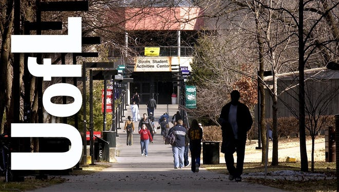 University of Louisville campus, Louisville. (File, The Courier-Journal)