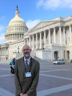 Hardin-Simmons University professor Rick Hammer recently was in Washington, D.C., for a conference that allowed him to meet with U.S. Rep. Jodey Arrington about climate-related issues.