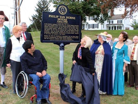 Bridgewater: Historical Marker Unveiled at Van Horne House PHOTO