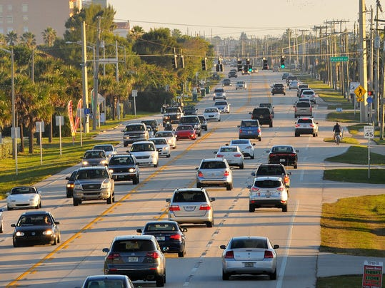 DANGEROUS STRETCH OF ROAD A1A