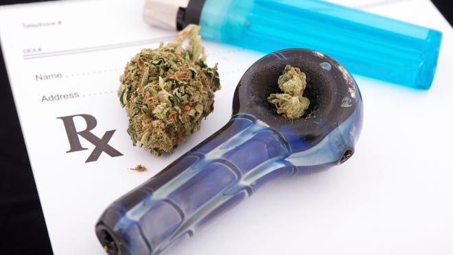 Stick image: Medical marijuana prescription