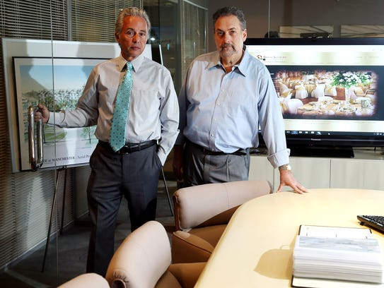 Richard R. Santore, left, and Barry Bielat own Bielat