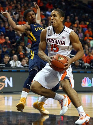 Virginia's Malcolm Brogdon scored a career-high 20 points in the win.