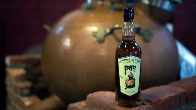 Copper & Vine's Garden State Brandy.