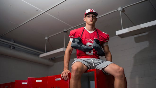 Delsea's Mason Maxwell is the Daily Journal Male Athlete of the Year. Maxwell starred for the Crusaders' football, wrestling and baseball teams as a senior.