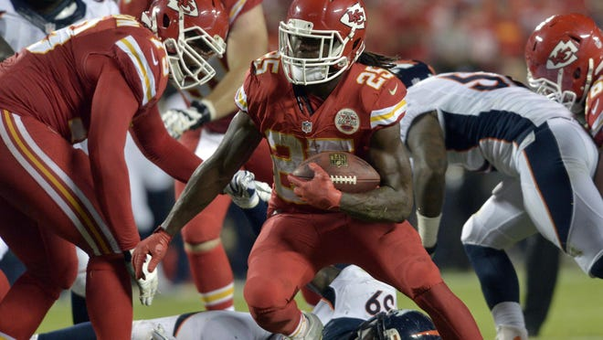 The Chiefs instead allowed a pair of touchdowns — one of them after Jamaal Charles coughed up the ball for the second time — in the final moments for a dispiriting 31-24 defeat at Arrowhead Stadium.