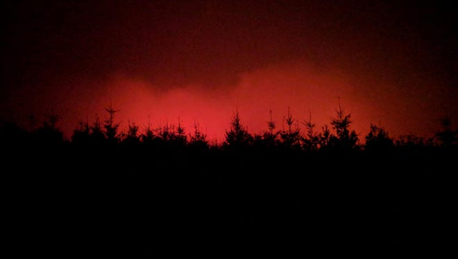 The Chetco Bar fire in southwestern Oregon continued to advance Thursday.
