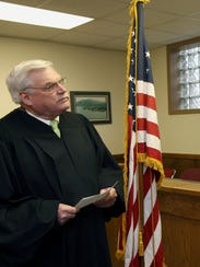Cold Spring Village Justice Thomas Costello photographed