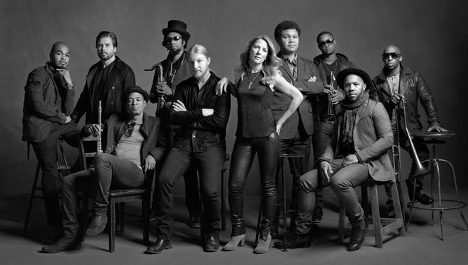 The Tedeschi Trucks Band, Sharon Jones and the Dap-Kings, and guitarist Doyle Bramhall II will perform Friday, June 26 at PNC Pavilion.