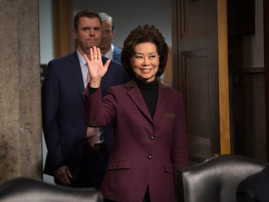 Chao outlines transportation priorities from skies to roads