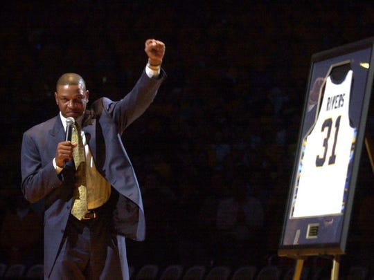"Glenn ""Doc"" Rivers had his number retired by Marquette in 2004."