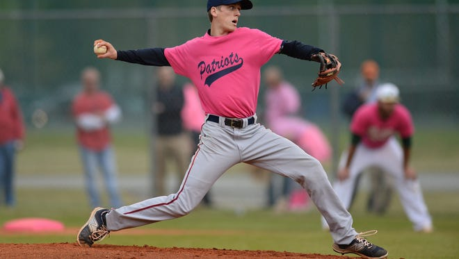 Junior pitcher Ryan Powers and the Powdersville Patriots will open the playoffs at home Thursday against Ninety Six.