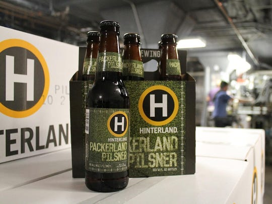 Bringing back Packerland Pilsner was one of the big successes for Hinterland Brewery during the past year.