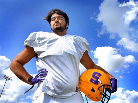 Smyrna linebacker Austin Brown leads his team in tackles