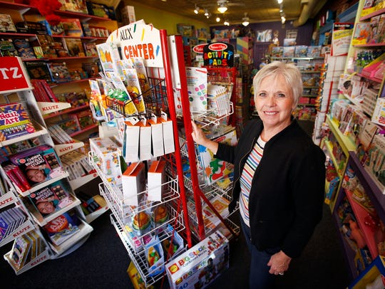 Ginny Coon believes her store, Imagine That! on Corning's
