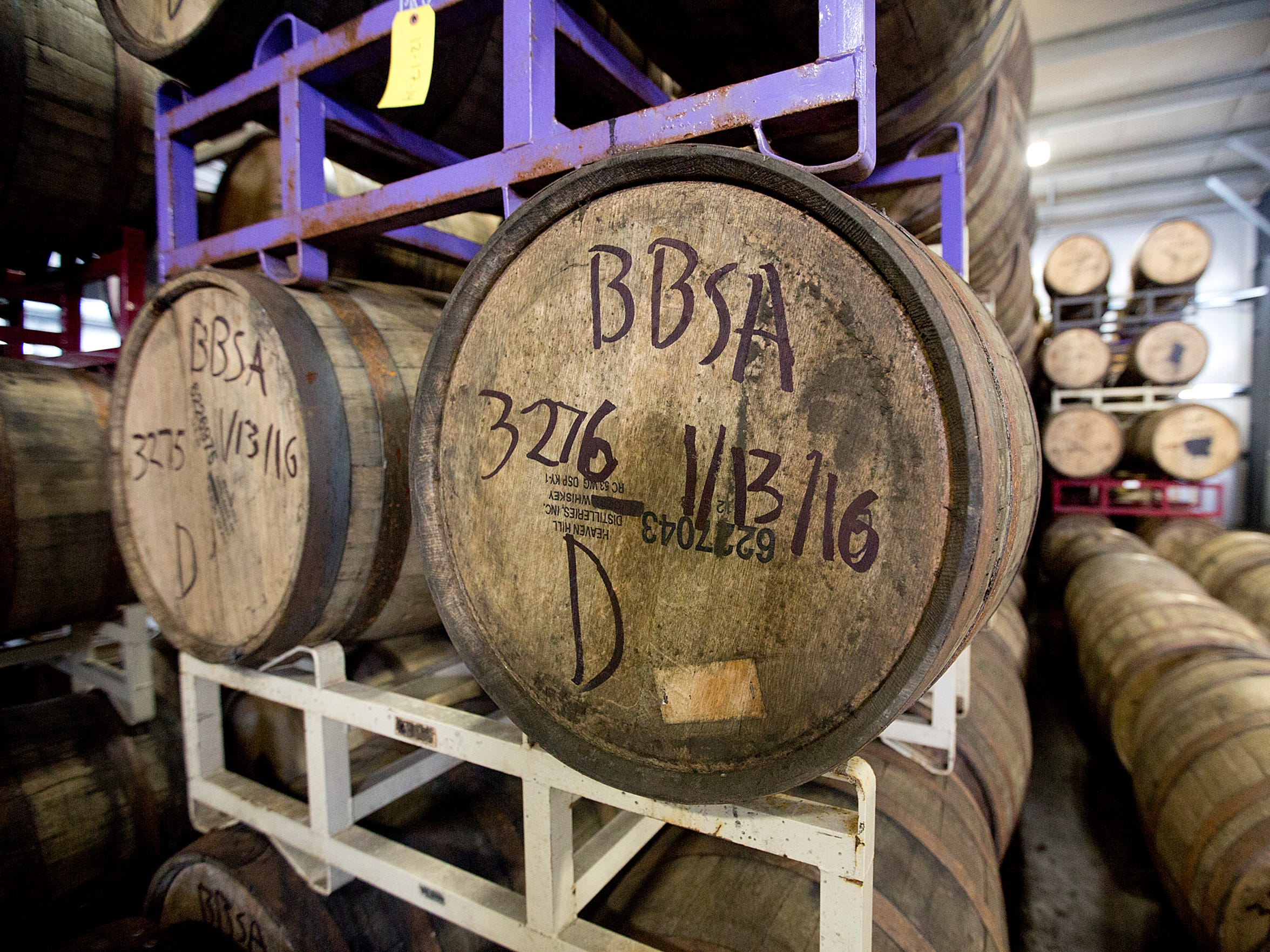 More than a third of the beer produced by Central Waters last year was aged in oak barrels. Even at that, it disappears from beer coolers in a hurry.