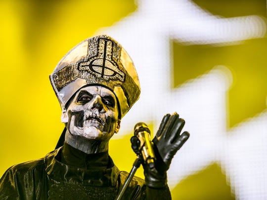 Swedish metal band Ghost