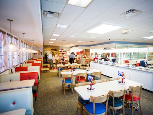 The Frisch's Big Boy in Covington on Fifth Street features