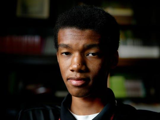 Herron High School student Zuri Cassell