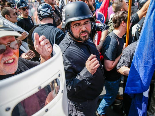 Matt Heimbach, a white nationalist who calls Indiana